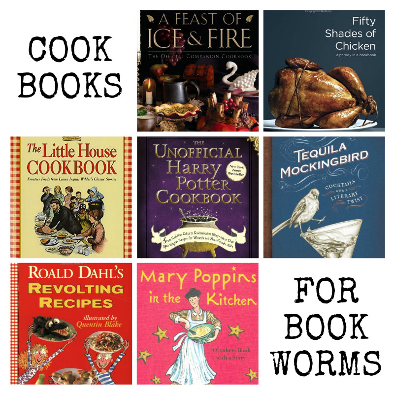 Cookbooks for Bookworms
