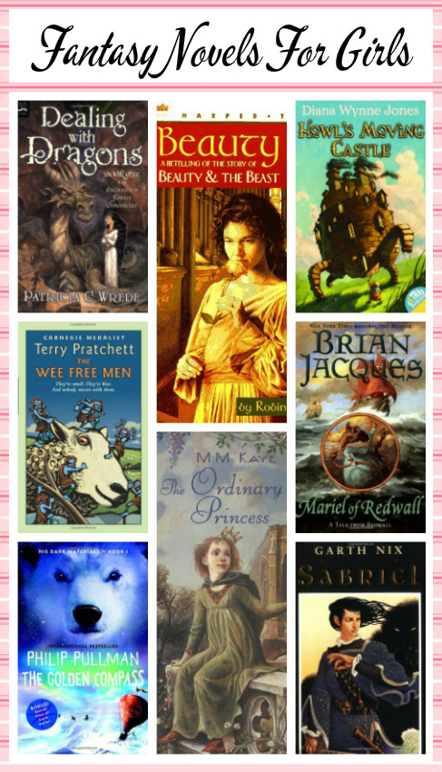10 Great Fantasy Novels For Girls