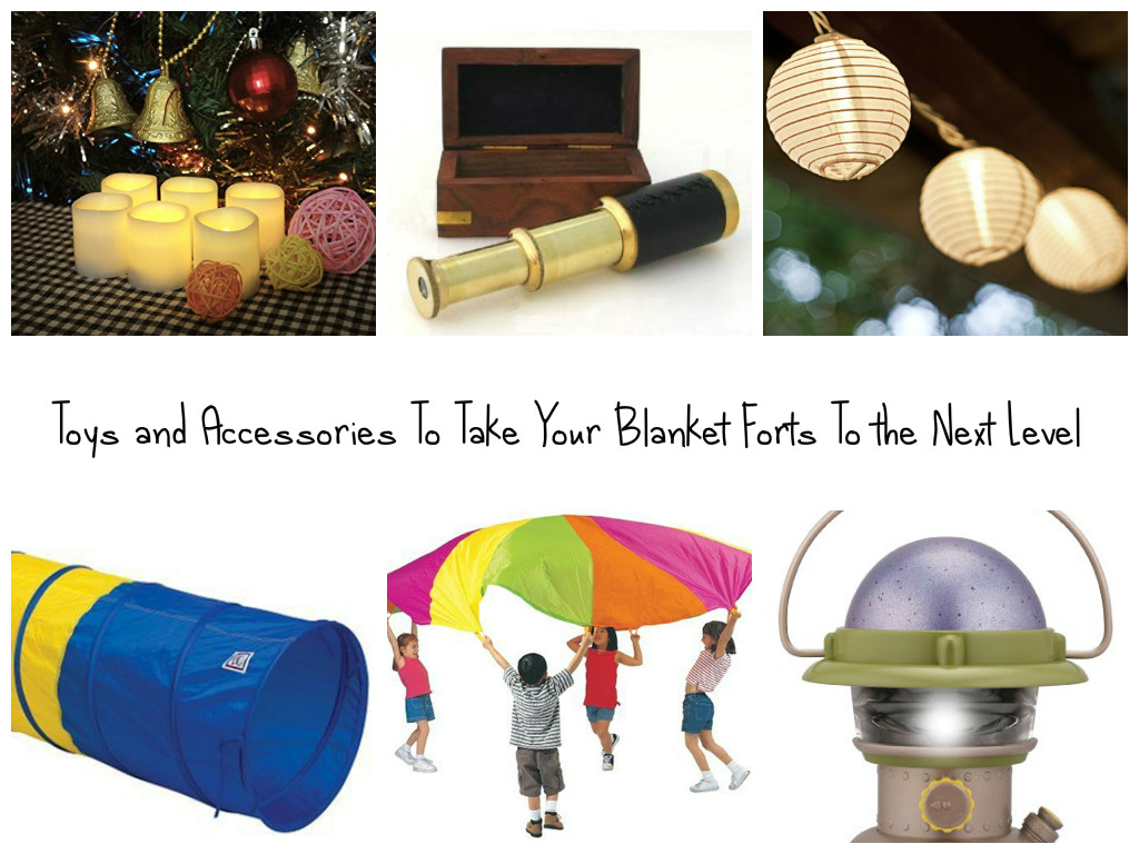 10 Great Toys and Accessories To Take Your Blanket Forts to the Next Level