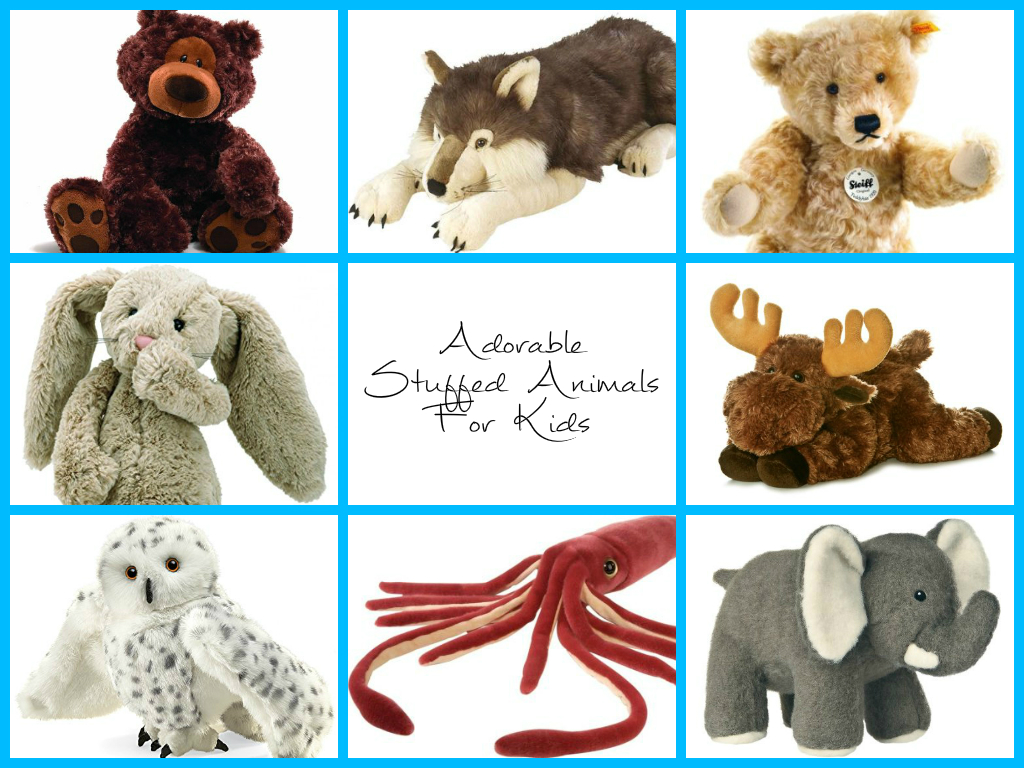 Adorable Stuffed Animals For Kids